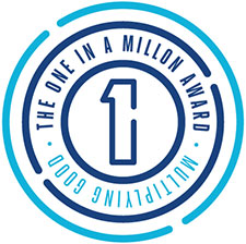 One In A Million Logo